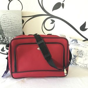 Pierre Cardin Travel Bag, Red